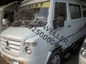 Tempo Traveller 12 seater delhi