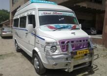 Tempo traveller Delhi to Agra
