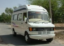 Delhi to Bhopal in Madhya Pradesh by tempo traveller