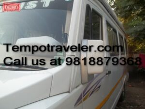 tempo traveller chandigarh