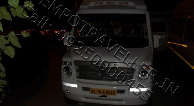 Bharatpur by tempo traveller