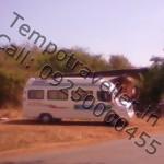 tempo traveller caravan
