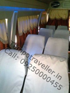 tempo traveller gurgaon rental service