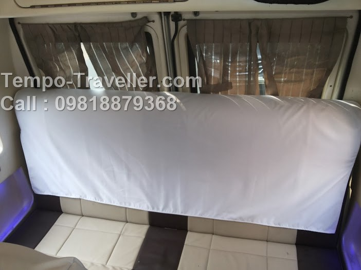 tempo traveller with sofa