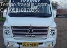 Delhi to Pilani by tempo traveller
