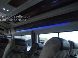 tempo traveller 12 seater