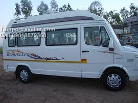 tempo traveller 12 seating