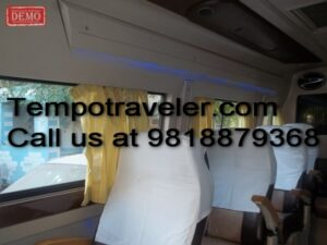 9 seater tempotraveller