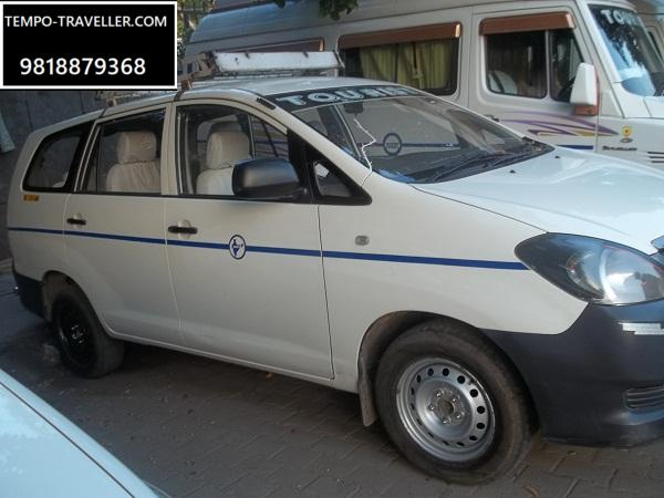 Innova car on rent in delhi
