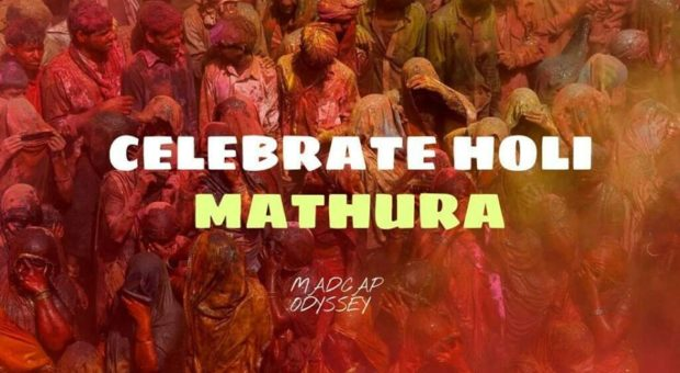 Holi Celebration at Mathura