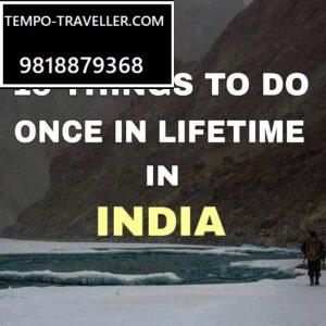 15 things in india