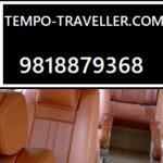 9 Seater Tempo Traveller Seating