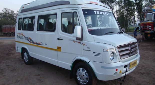 Delhi to haridwar by tempo traveller