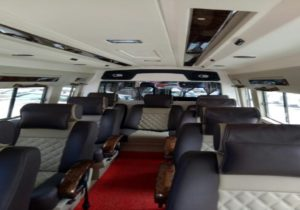 9 Seater Tempo Traveller for Agra