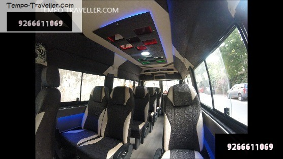12 seater tempo traveller for rent delhi