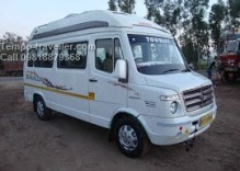 Tempo traveller for Mehandipur Balaji