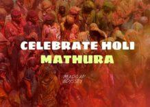 Holi Celebration at Mathura