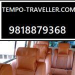 9 Seater Tempo Traveller Hire In Delhi