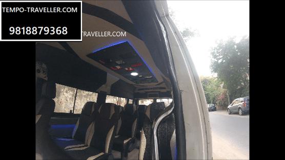 hire 12 seater vehicle in delhi